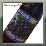 Adriatic Blueberry Syrup 1L Bosnia