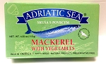 Adriatic Mackerel with Vegetables 125g