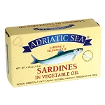 Sardines in Vegetable oil 115g Mediterranean Sea