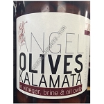 Angel Kalamata in vinegar brine & olive oil 600g