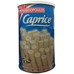 Caprice White Vanilla filled Wafers 250g