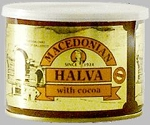 Cocoa Halva Macedonian 500g Can