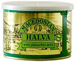 Pistachio Halva Macedonian 500g Can