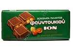 Ion Milk Chocolate with Hazelnuts 7.1 oz. bar