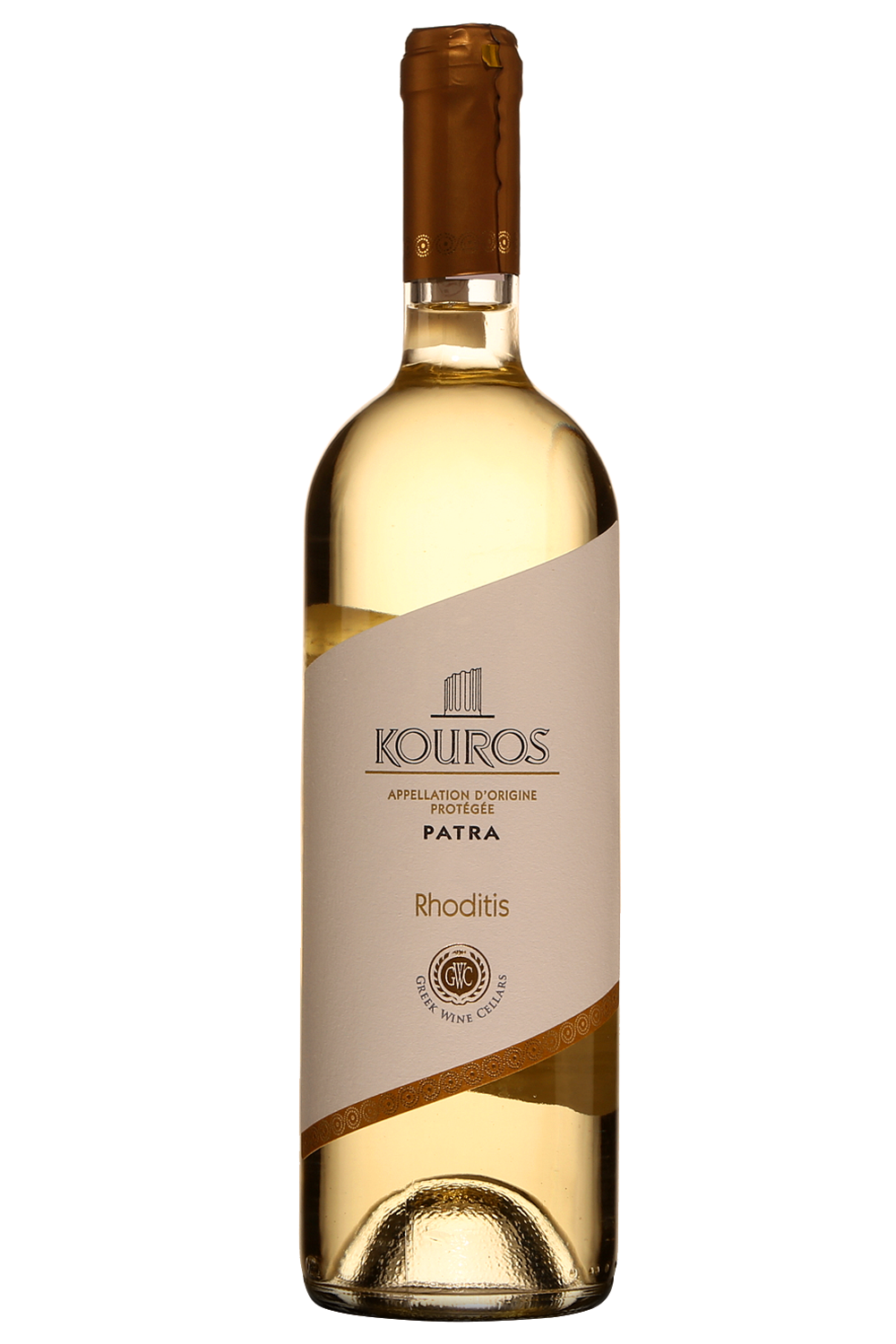 Kouros Patras Rhoditis Greek White Wine 750ml