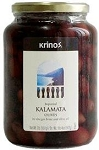 Kalamata Olives 1lb By: KRINOS