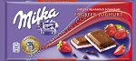 Milka Strawberry Cream 250g Bar