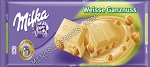 Milka White Chocolate with Whole Hazelnuts 250g Bar