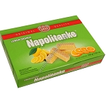 Napolitanke Lemon orange Wafers 330g Kras