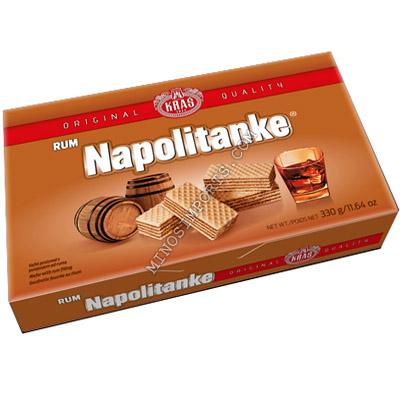 Napolitanke Rum Wafers 330g Kras