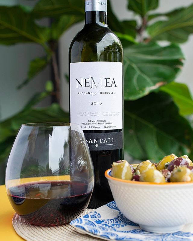Tsantali Nemea Greek Red Wine 750ml