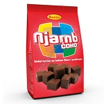 Njamb Coko Chocolate covered wafer cubes 250g