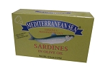 Sardines in Olive Oil 105g Mediterranean Sea