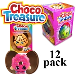 Shopkins Choco Treasure Surprise Chocolate Egg 23gx12 eggs