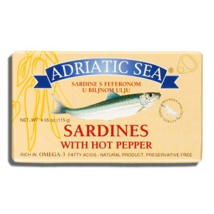 Adriatic Sardines with Hot Peppers 115g