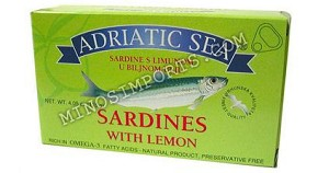 Adriatic Sardines with lemon 115g