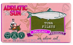 Tuna Fillets in Olive Oil 4oz By: ADRIATIC