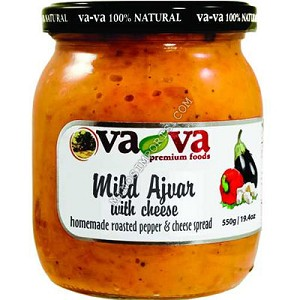Ajvar w/ Cheese 19oz Vava Macedonian