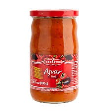 Ajvar Vegetable Spread Hot 24oz Podravka