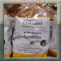 Almond Bread Rusks 400g Tsiknakis Greece