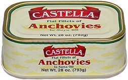 Anchovies, Fillets (Castella)  28oz Greece