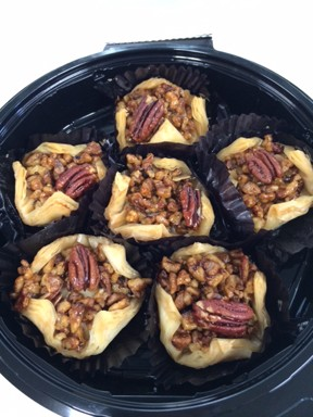 Baklava With Pecans Home Made Greek Pasty
