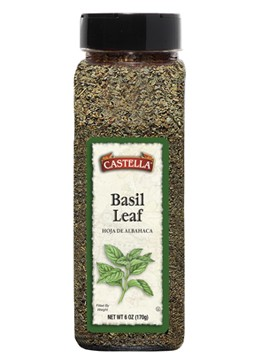 Basil Leaves 2.5oz By: Castella