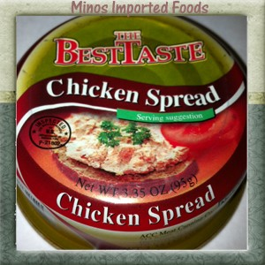 Chicken Spread Pate Mild The Best Taste B&S 95g