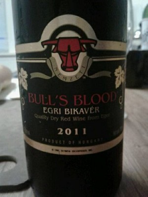 Bull's Blood Dry Red wine