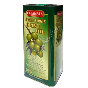Calamata extra virgin olive oil 5L Can