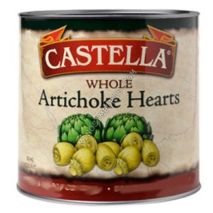 Artichoke Hearts Whole 400g Castella