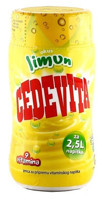 Cedevita Lemon Flavor powder mix Makes 2.5L