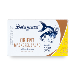 Delamaris Orient Mackerel Salad with chickpeas 125g