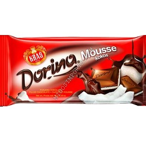 Chocolate kokos mousse filled 95g Kras Dorina