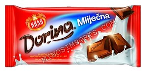 Milk Chocolate 300g Kras Dorina