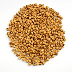 Yellow Double Roasted Chick Peas Imported 1lb bag
