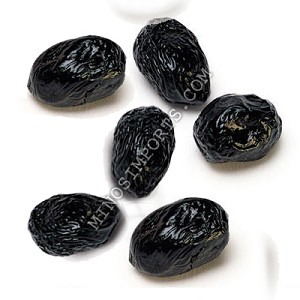 Dry Black Olives 1lb From Deli