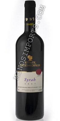 Estate Hatzimichalis Syrah Red Dry Wine 750ml