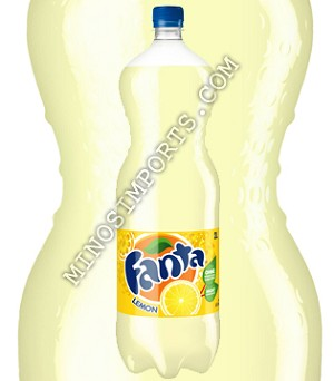 Fanta Soda Lemon 2L Bottles Europe