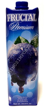 Fructal Premium Blueberry Nectar 1L