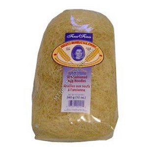 Old Fashioned egg noodles 342g Slovenia By: Helens