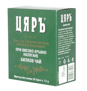 Bulgarian Tea High Blood Pressure 30 x 1.5g