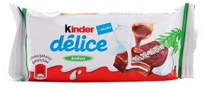 Kinder Delice Chocolate Sponge with Coconut 42g