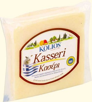 Kasseri Sheeps Milk Cheese Kolios aprox 1.85lb