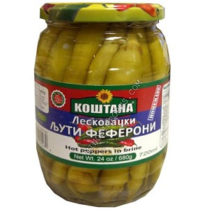 Fefferoni Peppers Hot 24oz by: Kostana