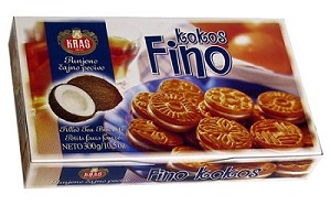 Kokos Fino Tea Biscuits 300g By: Kras