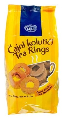 Tea Biscuits Rings 500g Kras