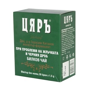 Bulgarian Tea Liver and Gall Problems 30 x 1.5g