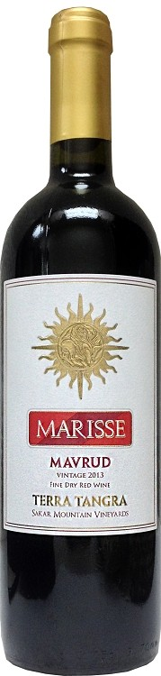 Marisse Mavrud Fine Dry Red Wine 750ml