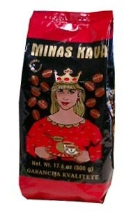 Minas kava red/black w/Crown Coffee 500g